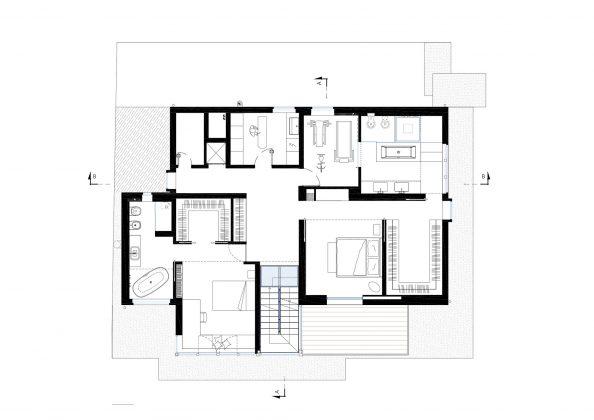 Дом в Порденоне, Италия, от студии Caprioglio Associati Architects 39