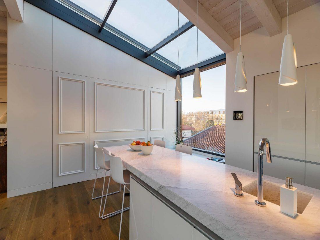 Дом в Порденоне, Италия, от студии Caprioglio Associati Architects 4