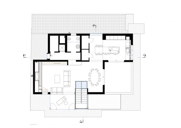 Дом в Порденоне, Италия, от студии Caprioglio Associati Architects 40