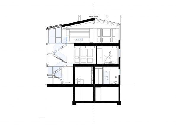 Дом в Порденоне, Италия, от студии Caprioglio Associati Architects 41