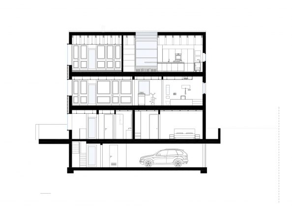 Дом в Порденоне, Италия, от студии Caprioglio Associati Architects 42