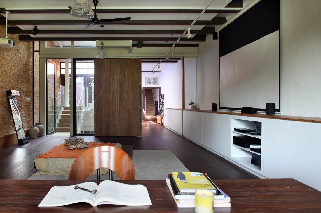 Дом в винтажном стиле в Сингапуре по проекту студии ONG and ONG 7