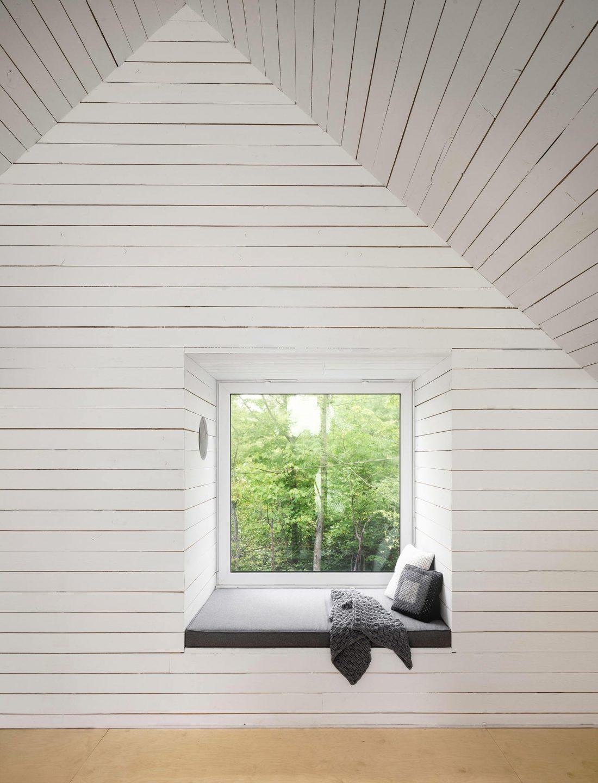 Фотографии современного интерьера в стиле шале 11