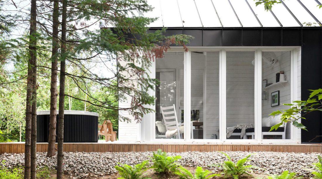 Фотографии современного интерьера в стиле шале 16