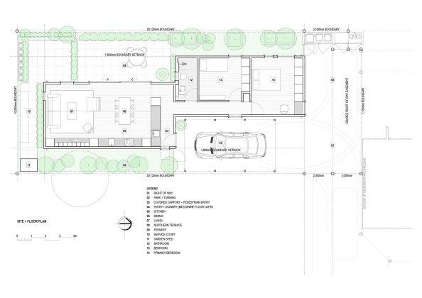 Городской коттедж от студии CoLab Architecture 18
