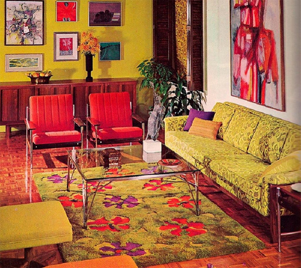 Интерьер 70-х: неожиданный тренд