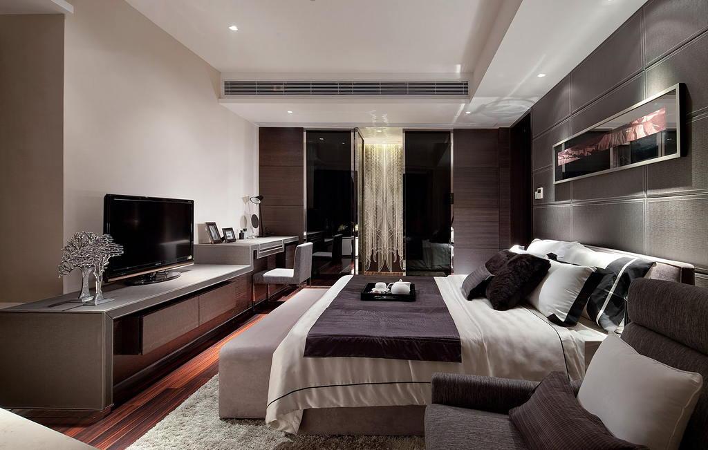 Современные идеи дизайна спальни 2017 г. 13