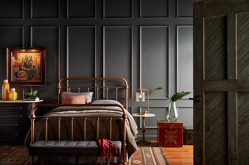 Современные идеи дизайна спальни 2017 г. 36