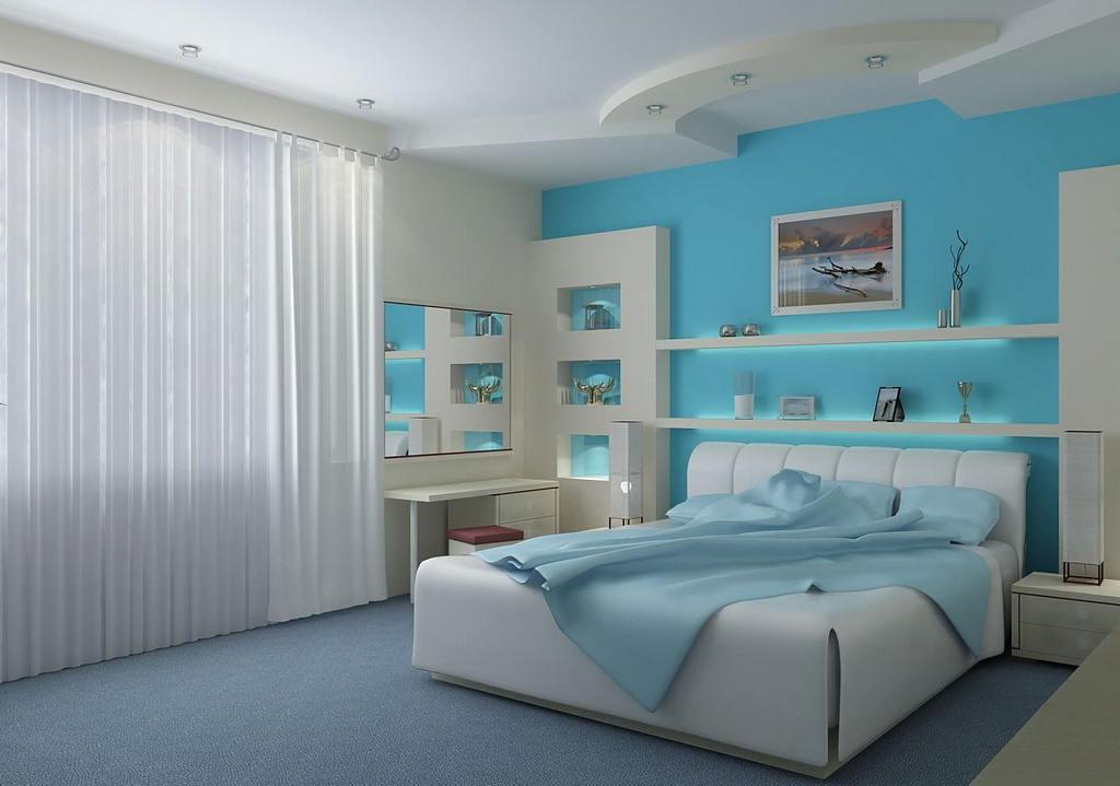 Современные идеи дизайна спальни 2017 г. 4