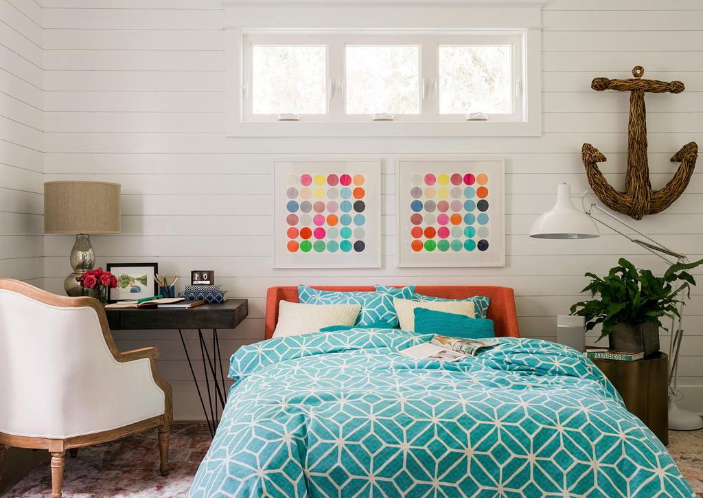 Современные идеи дизайна спальни 2017 г. 64