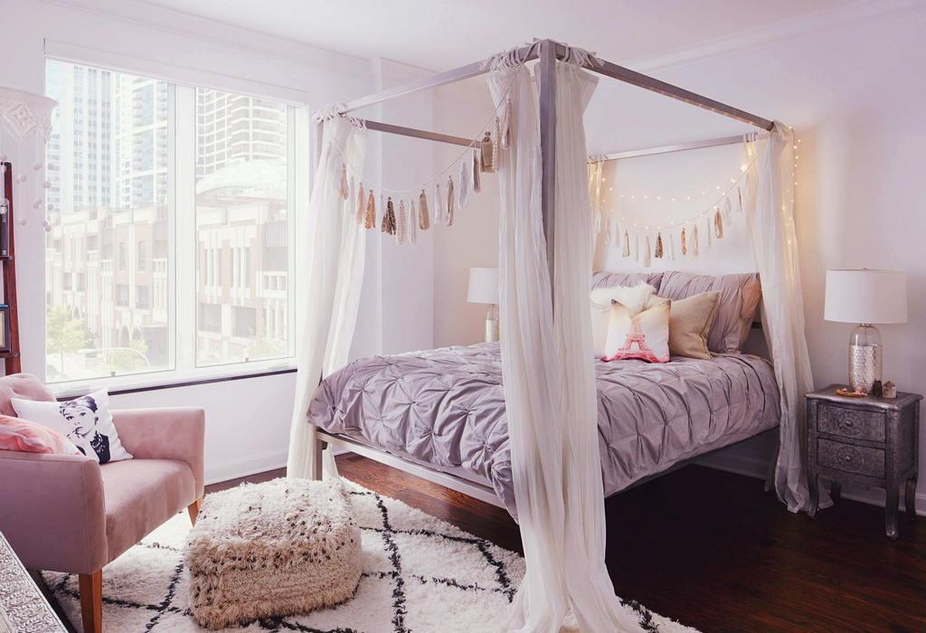 Современные идеи дизайна спальни 2017 г. 9