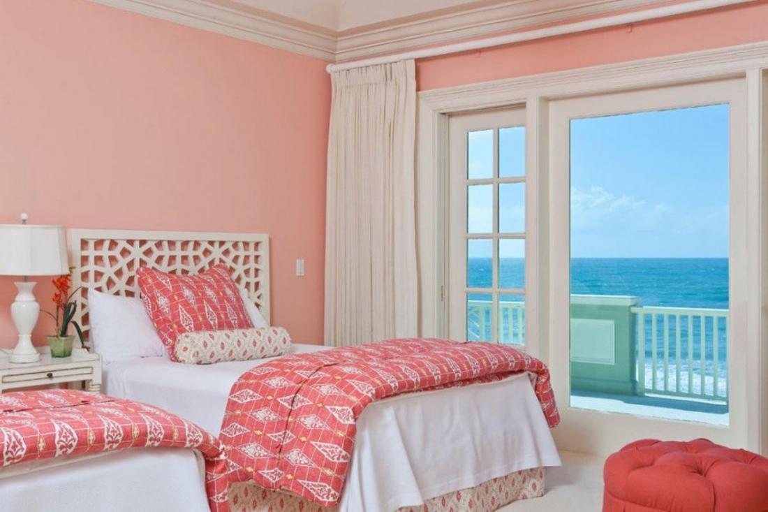 Спальня в розовых тонах — для романтических натур 1
