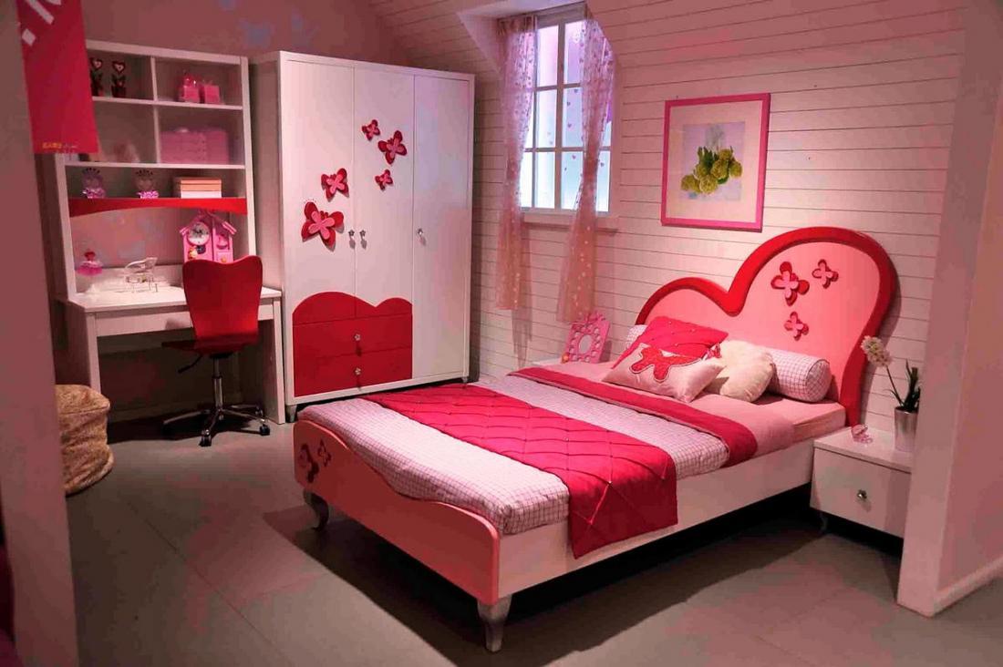 Спальня в розовых тонах — для романтических натур 15