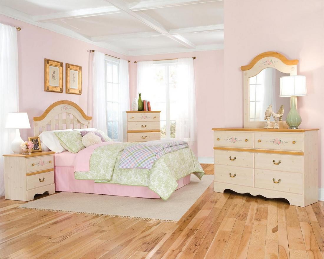 Спальня в розовых тонах — для романтических натур 19