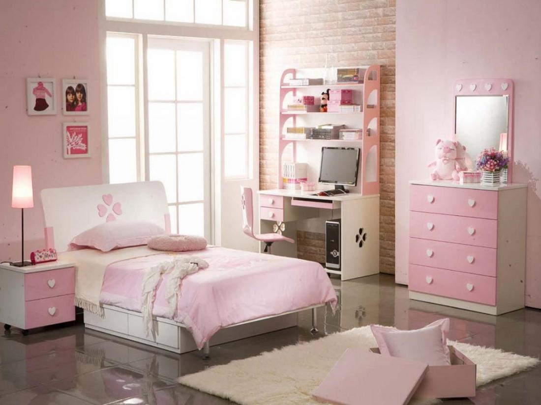 Спальня в розовых тонах — для романтических натур 20