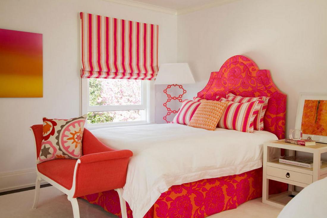 Спальня в розовых тонах — для романтических натур 23