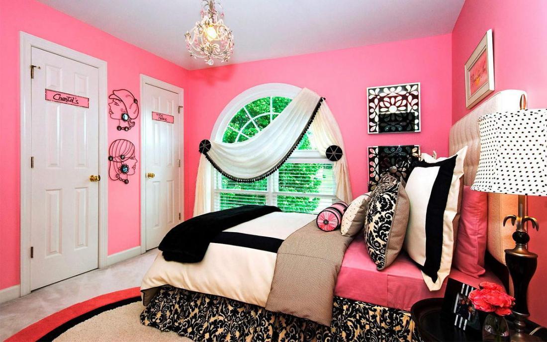 Спальня в розовых тонах — для романтических натур 3
