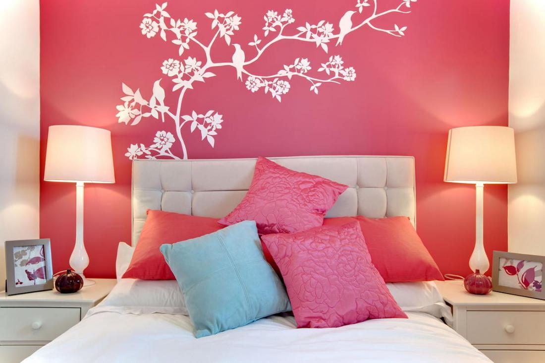 Спальня в розовых тонах — для романтических натур 4