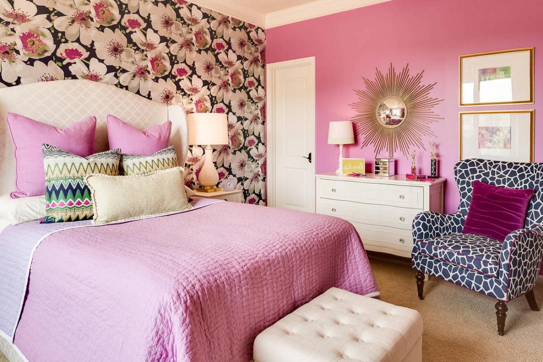 Спальня в розовых тонах — для романтических натур 5