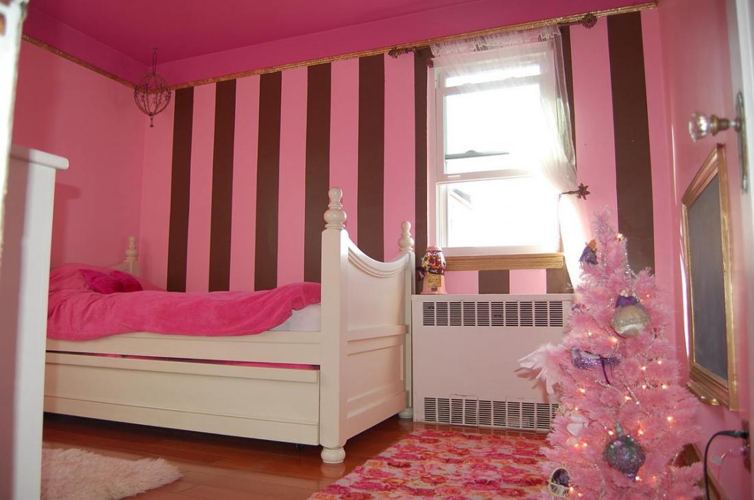 Спальня в розовых тонах — для романтических натур 7