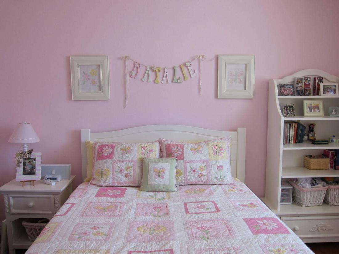 Спальня в розовых тонах — для романтических натур 8
