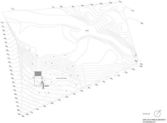 Стеклянный дом в лесу по проекту студии PENELAS ARCHITECTS 13