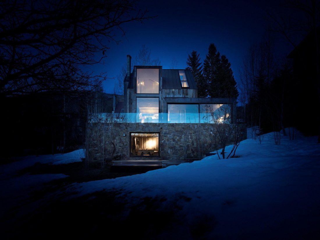 Уютный дом в стиле шале — тет-а-тет с природой 21