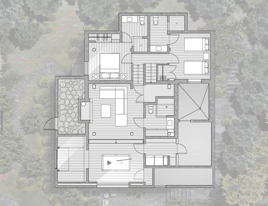 Уютный дом в стиле шале — тет-а-тет с природой 31