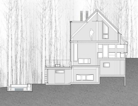 Уютный дом в стиле шале — тет-а-тет с природой 34