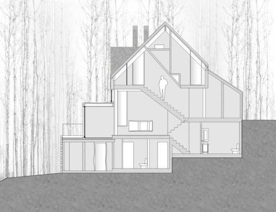 Уютный дом в стиле шале — тет-а-тет с природой 35