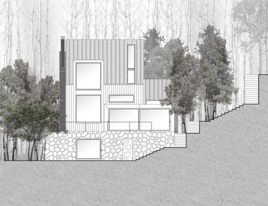 Уютный дом в стиле шале — тет-а-тет с природой 36