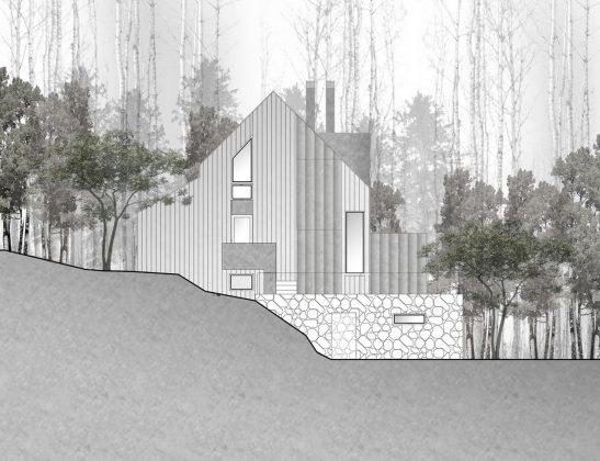 Уютный дом в стиле шале — тет-а-тет с природой 37