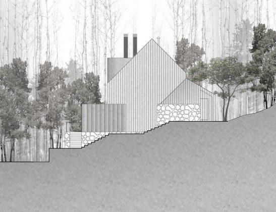 Уютный дом в стиле шале — тет-а-тет с природой 39
