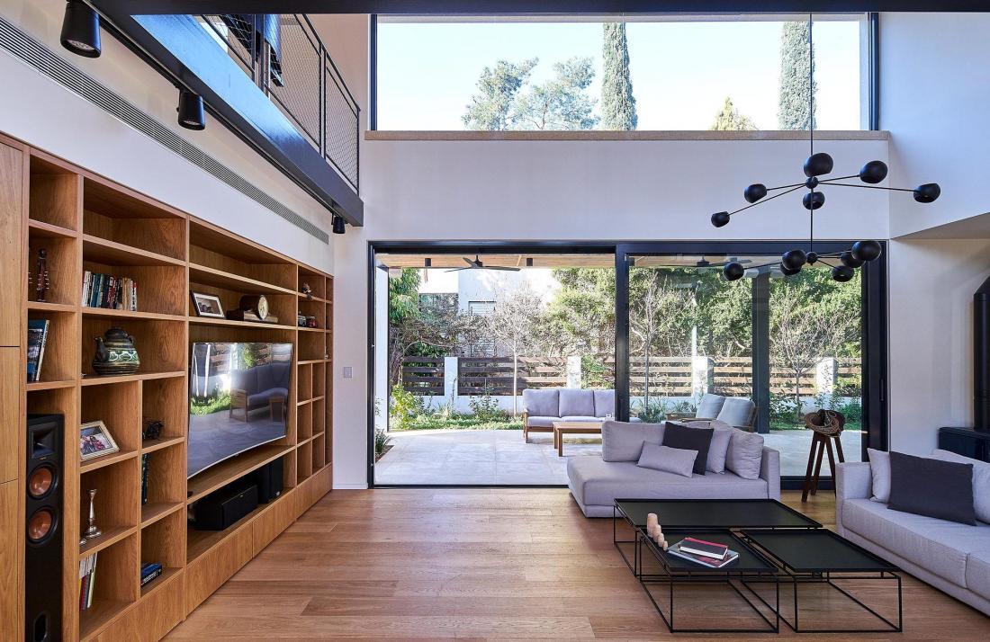 Дом в Израиле по проекту ателье Daniel Arev Architecture 11