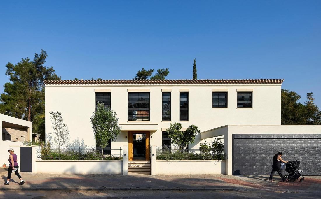Дом в Израиле по проекту ателье Daniel Arev Architecture 22