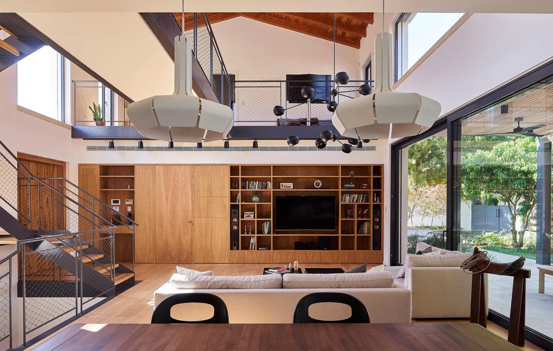 Дом в Израиле по проекту ателье Daniel Arev Architecture 30