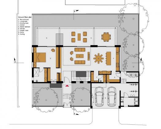 Дом в Израиле по проекту ателье Daniel Arev Architecture 45