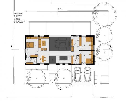 Дом в Израиле по проекту ателье Daniel Arev Architecture 46