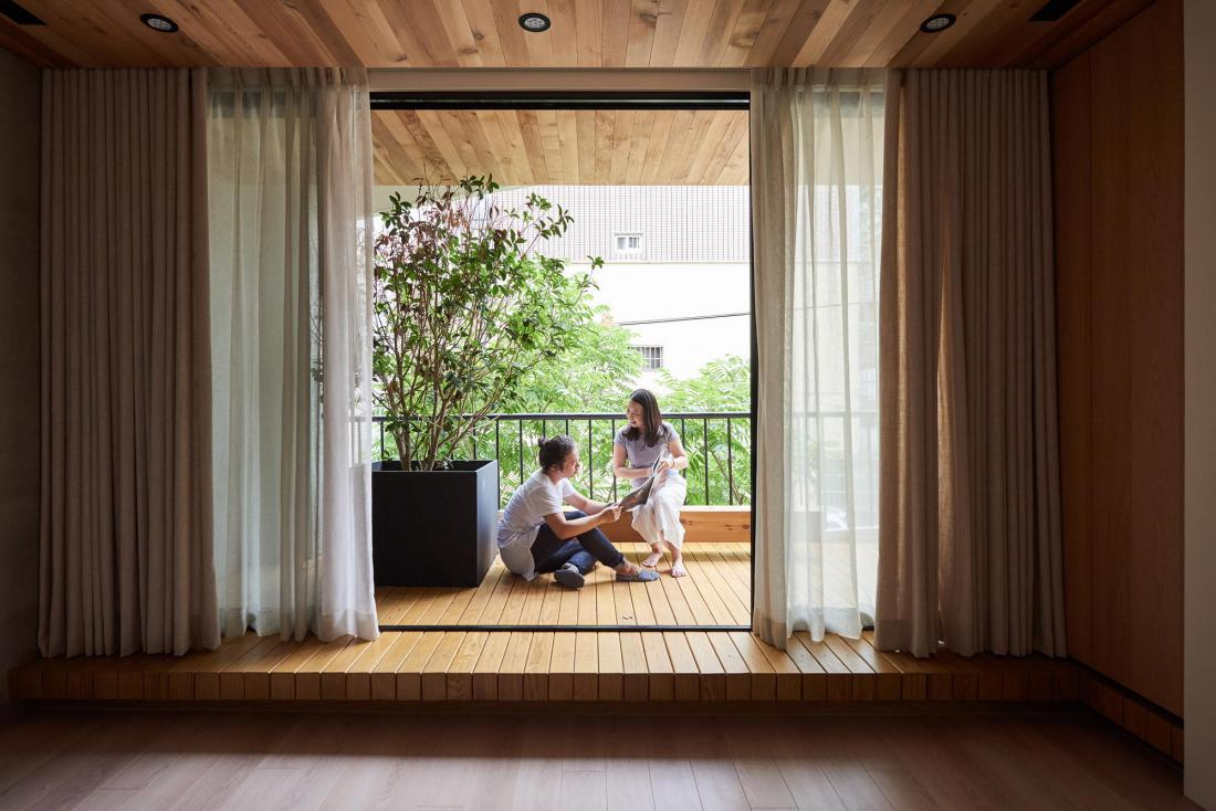 Дом в стиле ваби-саби 10