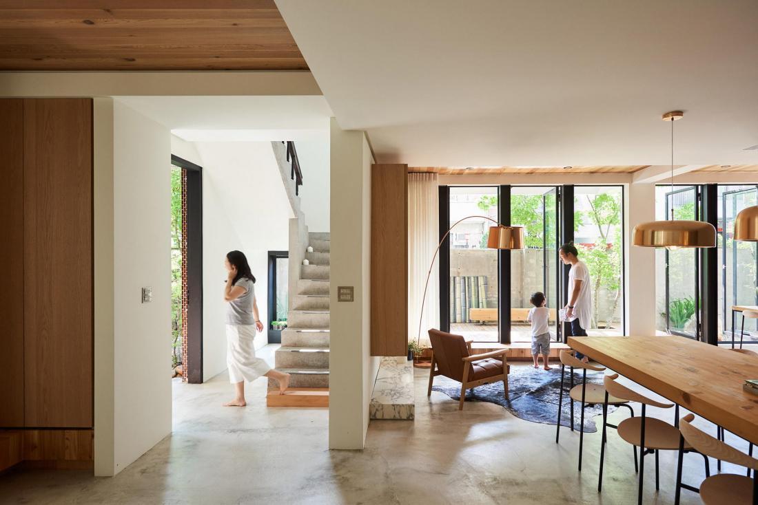 Дом в стиле ваби-саби 2