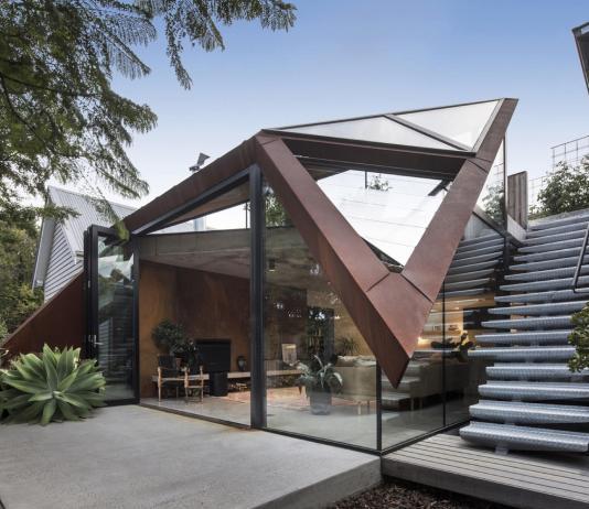 Пшеничный дом от студии Damian Rogers Architecture 1