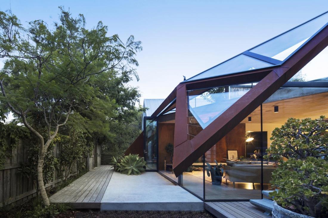 Пшеничный дом от студии Damian Rogers Architecture 11