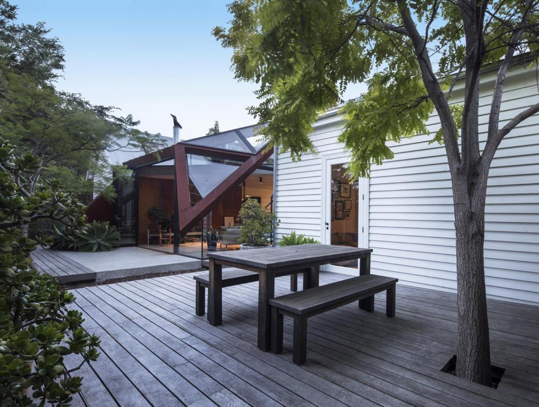 Пшеничный дом от студии Damian Rogers Architecture 13