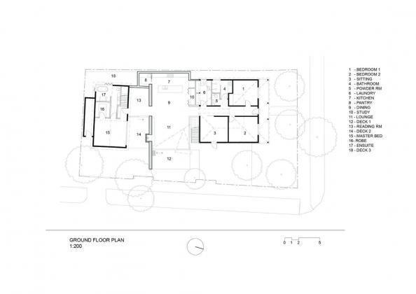 Пшеничный дом от студии Damian Rogers Architecture 15