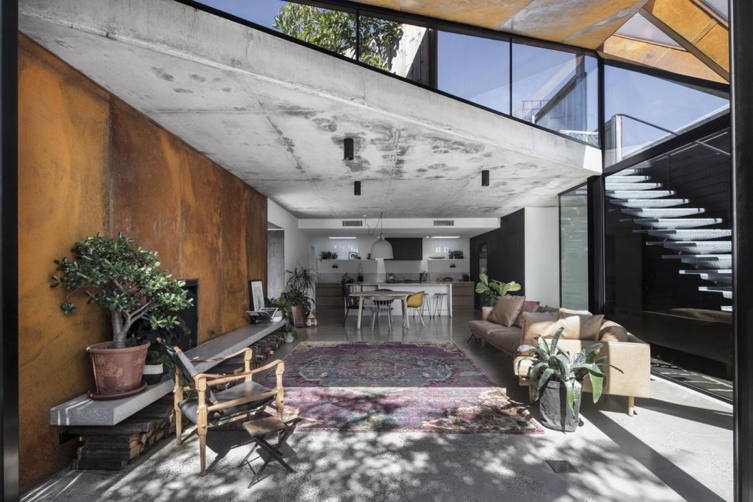 Пшеничный дом от студии Damian Rogers Architecture 2