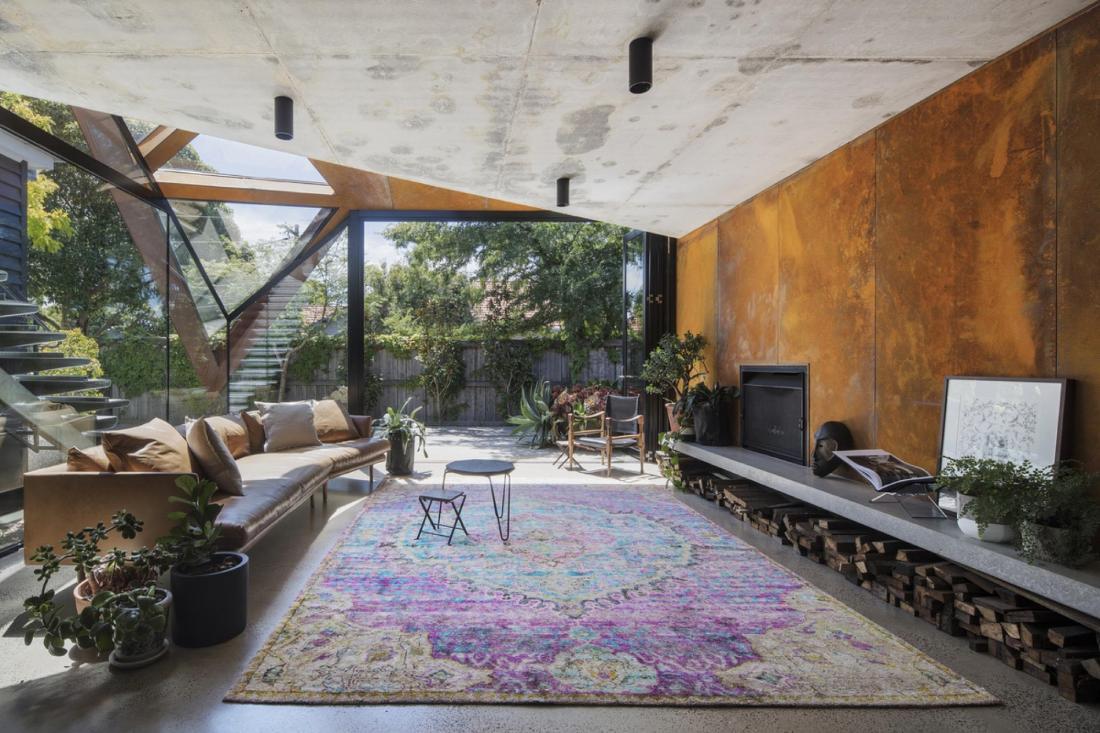 Пшеничный дом от студии Damian Rogers Architecture 3