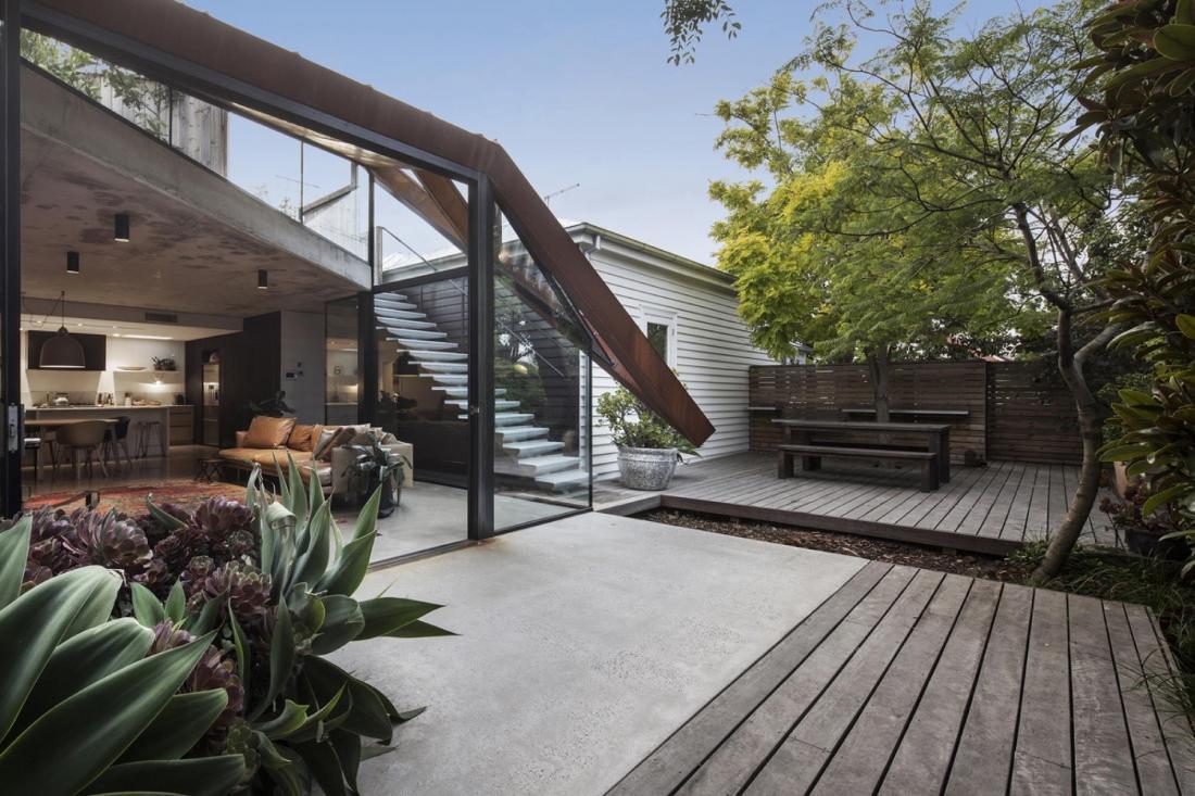 Пшеничный дом от студии Damian Rogers Architecture 4