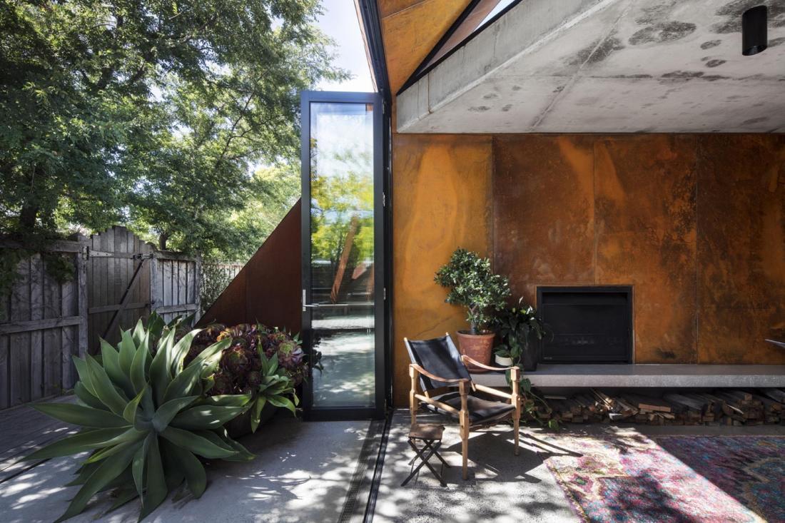 Пшеничный дом от студии Damian Rogers Architecture 6