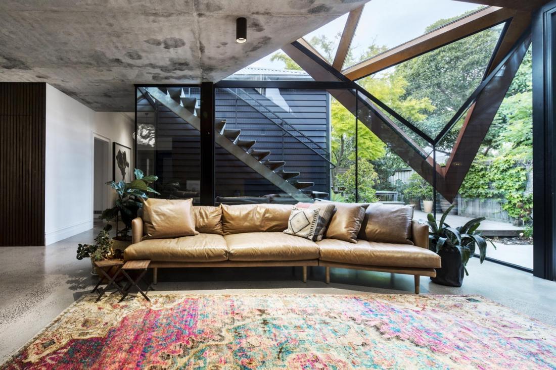 Пшеничный дом от студии Damian Rogers Architecture 7