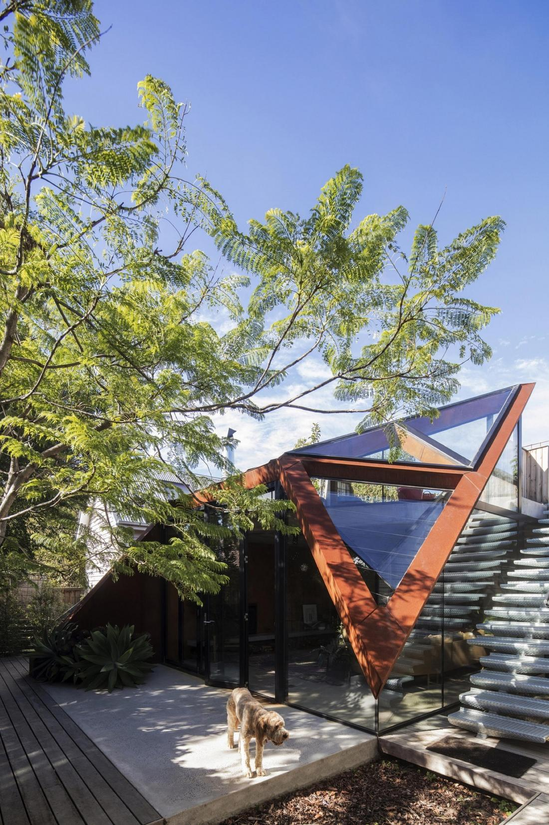 Пшеничный дом от студии Damian Rogers Architecture 8